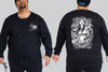 Graf Tattoo - Chaotic KING Size Long Sleeve Tee - Chaotic Clothing