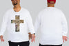 Lion Cross Chaotic Clothing KING SIZE Long Sleeve Tshirt 3XL - 5XL