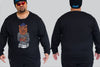 Sailor Lion Long Sleeve Tee I Chaotic KING Size Streetwear I 2xl to 9xl Plus -  - Chaotic Clothing Streetwear Sydney Australia Street Style Plus Menswear