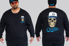 Skullhat Chaotic KING Size Long Sleeve Tee - Chaotic Clothing