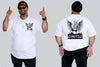 Angel Chaotic King Size Tshirt 3XL to 7XL -  - Chaotic Clothing Streetwear Sydney Australia Street Style Plus Menswear