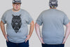 Owl Chaotic King Size Tshirt 3XL to 7XL -  - Chaotic Clothing Streetwear Sydney Australia Street Style Plus Menswear
