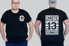 Lucky 13 Stripe Tshirt I Chaotic KING Size Streetwear Tees I 2xl to 9xl Plus