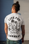 Live For Summer T-Shirt - Shirts - Chaotic Clothing Streetwear Sydney Australia Street Style Plus Menswear