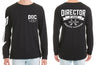 Director Of Chaos Long Sleeve Tshirt - Chaotic Clothing