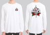 Tattoo Rose Gamblr Long Sleeve Tshirt - Shirts - Chaotic Clothing Streetwear Sydney Australia Street Style Plus Menswear