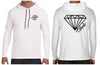 Glass Diamond Chaotic Clothing Streetwear Hooded Long Sleeve Shirt - Shirts - Chaotic Clothing Streetwear Sydney Australia Street Style Plus Menswear
