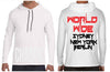 World Wide Hooded L/S - Shirts - Chaotic Clothing Streetwear Sydney Australia Street Style Plus Menswear