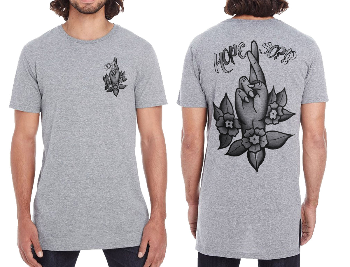 Hope So Drop Tail Tee - Chaotic Clothing
