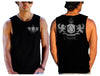 2 Dragons Mens Muscle Tank - Shirts - Chaotic Clothing Streetwear Sydney Australia Street Style Plus Menswear
