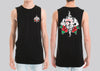 Tattoo Rose Gamblr Muscle Tank