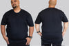 BASICS Cotton Tshirt Chaotic King Size Tshirt I 2xl to 9xl Plus