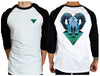 Rain Man Raglan - Chaotic Clothing