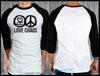 Love Chaos Raglan - Chaotic Clothing
