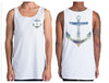 Anchor Singlet | Chaotic Clothing Streetwear Tshirts - Shirts - Chaotic Clothing Streetwear Sydney Australia Street Style Plus Menswear