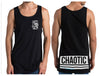 Bottoms Up Singlet - Shirts - Chaotic Clothing Streetwear Sydney Australia Street Style Plus Menswear