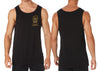 Here For The Beer Singlet | Chaotic Clothing Streetwear Tshirts