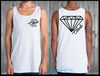 Glass Diamond Singlet - Shirts - Chaotic Clothing Streetwear Sydney Australia Street Style Plus Menswear