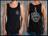Skeleton Finger Singlet - Chaotic Clothing