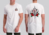 Tattoo Rose Gamblr Tall T-shirt - Shirts - Chaotic Clothing Streetwear Sydney Australia Street Style Plus Menswear