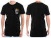 Pocket Bling Skull Tall Tee - Chaotic Clothing