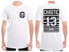 13 Stripe Mens Tall Tee | Chaotic Clothing Streetwear Tshirts - Shirts - Chaotic Clothing Streetwear Sydney Australia Street Style Plus Menswear