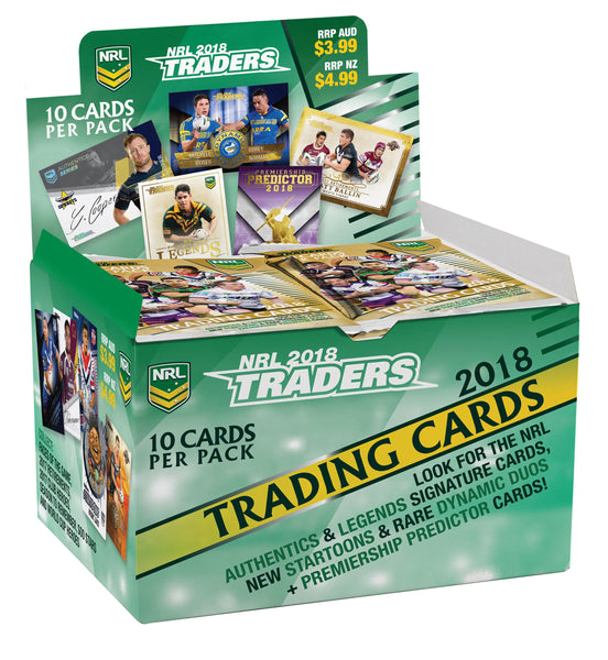 2018 NRL Traders Box