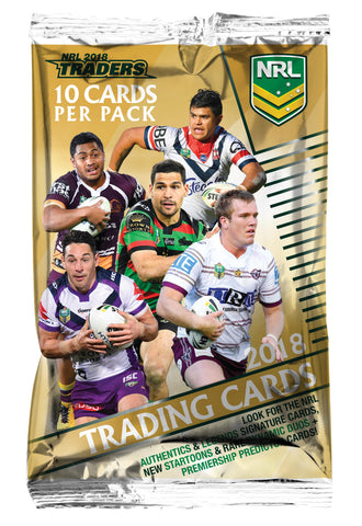 2018 NRL Traders Packet