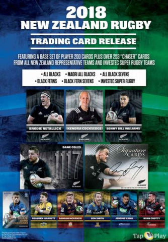 2018 TapnPlay New Zealand Rugby Trading Card Collection