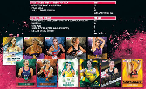 SUNCORP SUPER NETBALL TRADING CARD SERIES