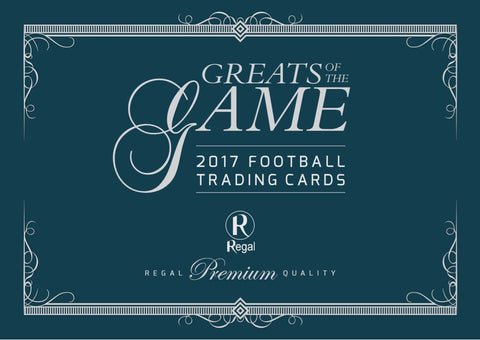 2017 Football Greats of the Game logo