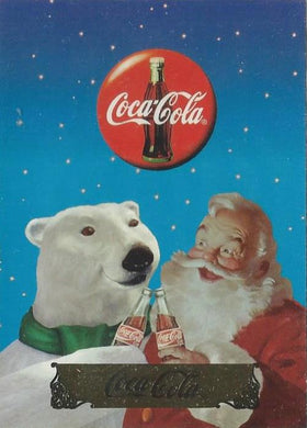 Coca-Cola, Series 2, 10 Card Santa Claus Set, 1994 Collect-a-Card