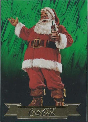 Coca-Cola, Series 3, 10 Card Santa Claus Set, 1994 Collect-a-Card