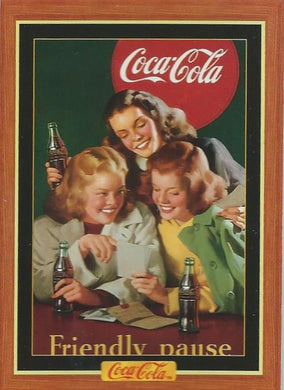 Coca-Cola, Series 4, 100 Card Base Set, 1995 Collect-a-Card (NS)