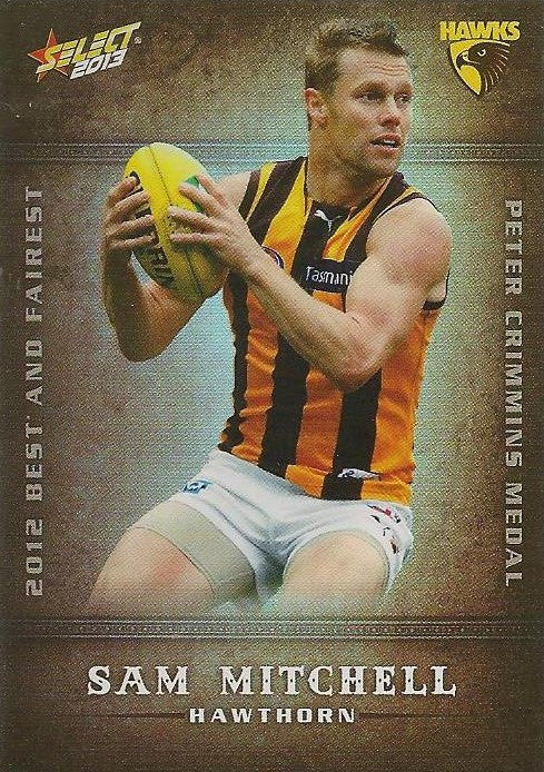 Sam Mitchell, Best & Fairest, 2013 Select AFL Champions