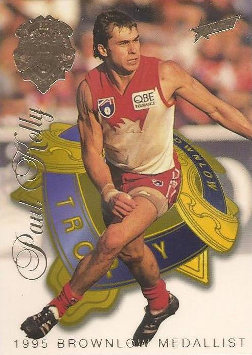 Paul Kelly, Brownlow Medallist, 1996 Select AFL