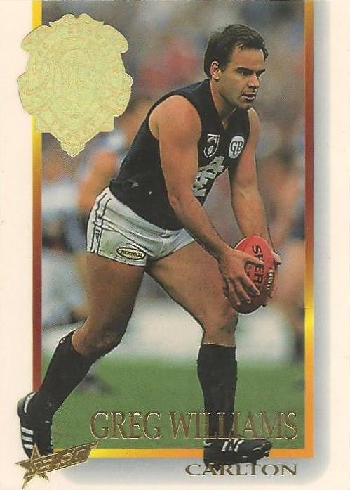 Greg Williams, Brownlow Medallist, 1996 Select AFL