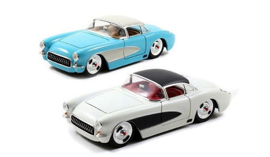 1957 Chevy Corvette, Big Time Muscle, 1:24 Diecast Vehicle