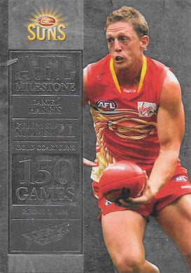 Daniel Harris. 150 Game Milestone, 2012 Select AFL Champions
