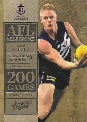 Adam McPhee. 200 Game Milestone, 2012 Select AFL Champions