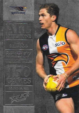 Adam Selwood, 150 Game Milestone, 2012 Select AFL Champions