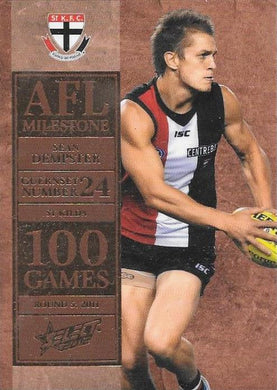 Sean Dempster, 100 Game Milestone, 2012 Select AFL Champions
