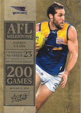 Darren Glass, 200 Game Milestone, 2012 Select AFL Champions