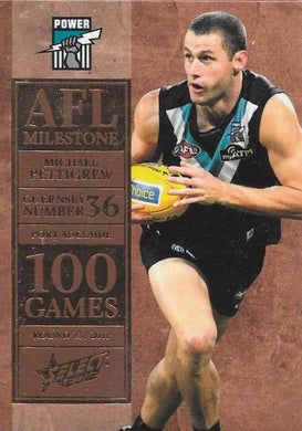 Michael Pettigrew, 100 Game Milestone, 2012 Select AFL Champions