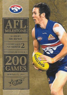 Robert Murphy, 200 Game Milestone, 2012 Select AFL Champions