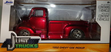 1952 Chevy Coe Pickup, Just Trucks, 1:24 Diecast Vehicle