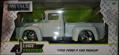 1956 Ford F-100 Pickup, Just Trucks, 1:24 Scale Diecast Vehicle