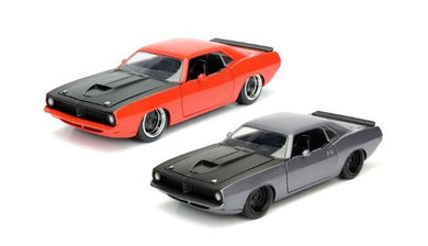 1973 Plymouth Barracuda, Big Time Muscle, 1:24 Diecast Vehicle