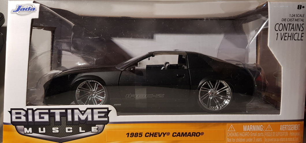 1985 Chevy Camaro, Big Time Muscle, 1:24 Diecast Vehicle