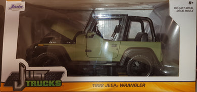 1992 Jeep Wrangler, Just Trucks, 1:24 Diecast Vehicle